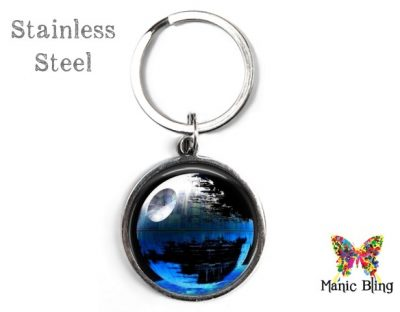 Death Star Keyring Blue Men's Keyrings