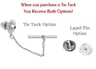 Monogram Tie Tack