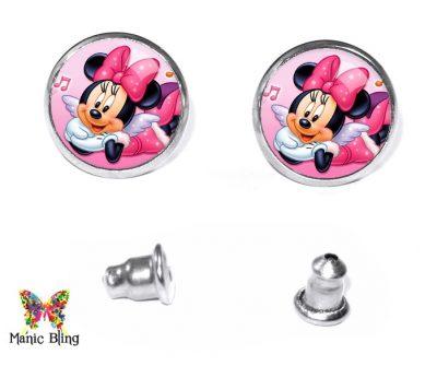 Minnie Mouse Stud Earrings Earrings