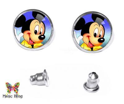 Mickey Mouse Stud Earrings Post Earrings