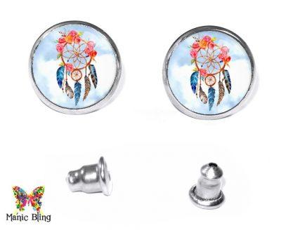Dream Catcher Stud Earrings Earrings