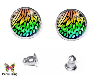 Butterfly Wing Stud Earrings Earrings