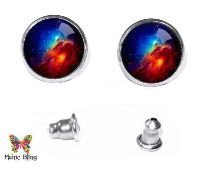 Nebula Stud Earrings Post Earrings