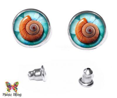 Seashell Stud Earrings Earrings