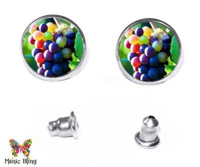 Grapes Stud Earrings Earrings