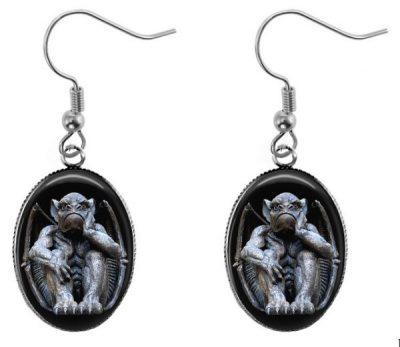 Gothic Gargoyle Earrings Dangle Earrings