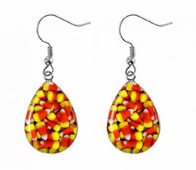 Candy Corn Earrings Halloween