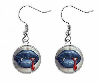 Vampire Earrings Halloween