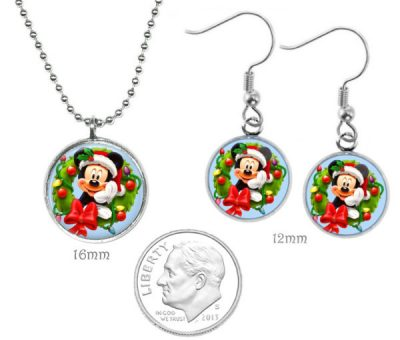 Mickey Mouse Jewelry Set Christmas & Thanksgiving