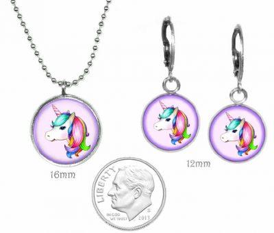 Girls Unicorn Jewelry Set Just for Kids