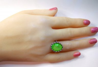 Mood Ring Sterling Silver